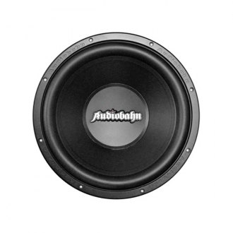 "Audiobahn® - 10"" Swerve Series DVC 660W Subwoofer with Flame Stamped Basket"