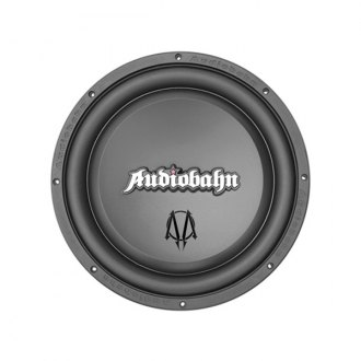 "Audiobahn® - 12"" Murdered-Out Series DVC 800W Subwoofer with Flame Stamped Basket"