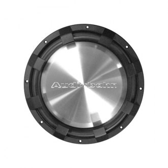 "Audiobahn® - 10"" Low Profile Series DVS 800W Subwoofer with Stamped Basket"