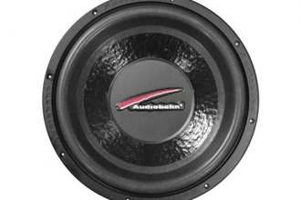 "Audiobahn® - 12"" Natural Sound Series DVC 800W Subwoofer with Stamped Basket"