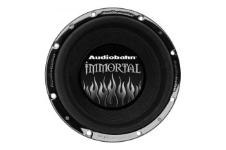 "Audiobahn® - 12"" Immortal Series 4000W Subwoofer with 3D Flame"