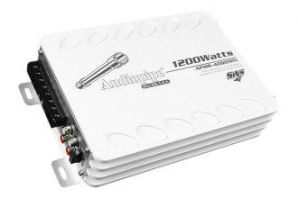 Audiopipe® - Class D 4-Channel 1200W Marine Amplifier