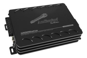 Audiopipe® - APSM Series Class D 4-Channel 1200W Amplifier