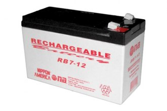 Audiopipe® - 12V 7Ah Rechargeable Battery