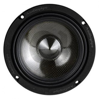 "Audiopipe® - 6"" Carbon Fiber Series 250W Midrange Speaker"