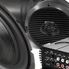 Audiopipe® - ATV Motorcycle Sound System