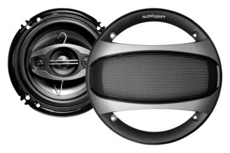 "Audiopipe® - 6-1/2"" 4-Way Audio Drift™ DSA Series 350W Speakers"