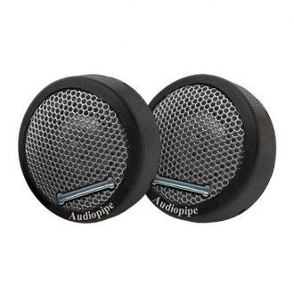"Audiopipe® - 1-1/2"" NTC Series 300W Super High Frequency Mini Tweeters"