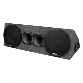 "Audiopipe® - 10"" VOZ Series 700W Midbass Speaker Box"