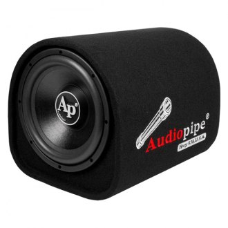 "Audiopipe® - 10"" APDH Series Single Tube Powered 400W Subwoofer Enclosure"