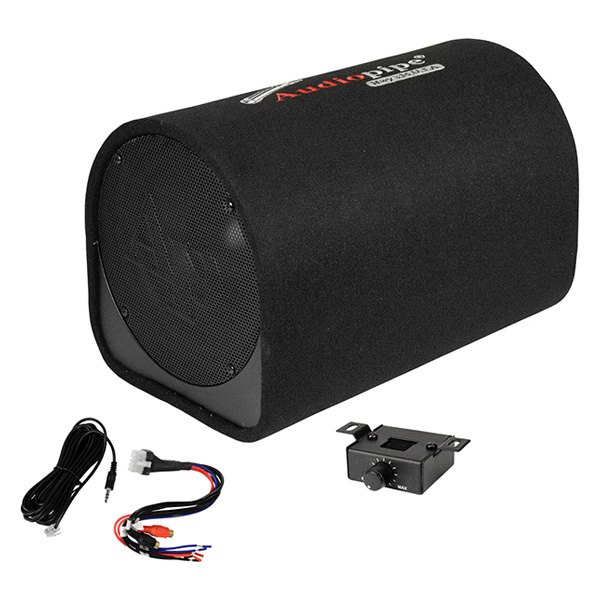 "Audiopipe® APDX10A - 10"" AP-DX Series Ported Powered 500W Subwoofer Tube"
