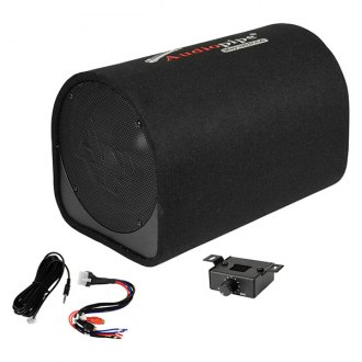 "Audiopipe® - 10"" AP-DX Series Ported Powered 500W Subwoofer Tube"