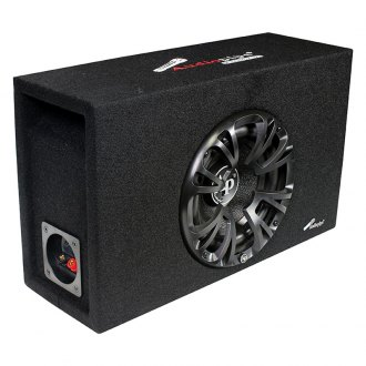 "Audiopipe® - 8"" APMINI Series Single Vented Passive 500W Subwoofer Enclosure"