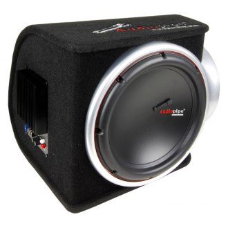 "Audiopipe® - 12"" APPB Series Single Ported Powred 2000W Subwoofer Enclosure"