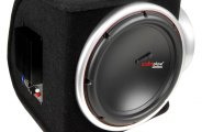 "Audiopipe® - 12"" 2000W Single Ported Amplified Subwoofer Box"
