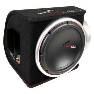 "Audiopipe® - 12"" Single Ported Amplified 750W Subwoofer Box"