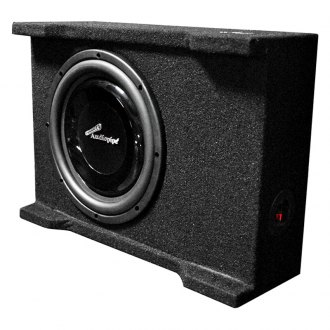 "Audiopipe® - 10"" APSB Series Shallow Mount Sealed Passive 400W Subwoofer Enclosure"