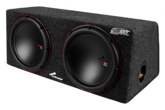 "Audiopipe® - 10"" APSB Series 1000W Sealed Dual Subwoofer Enclosure"
