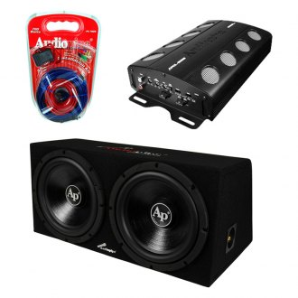 "Audiopipe® - 12"" Super Bass Combo 2000W Package"