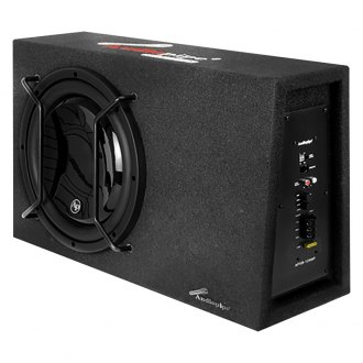 "Audiopipe® - 12"" APSB Series Single Sealed Powered 600W Subwoofer Enclosure"