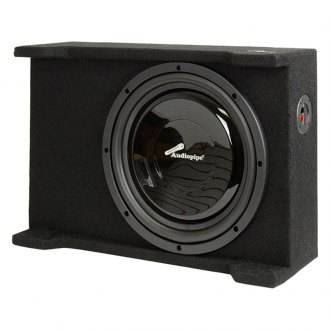 "Audiopipe® - 12"" AP-SB Series Single Shallow Downward-Firing Sealed Passive 500W Subwoofer Box"