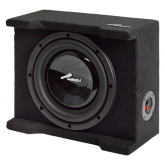 "Audiopipe® - 8"" AP-SB Series Single Shallow Downward-Firing Sealed Passive 300W Subwoofer Box"