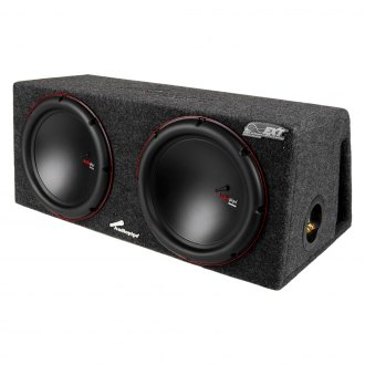 "Audiopipe® - 12"" APVB Series Dual Ported Passive 1500W Subwoofer Enclosure"