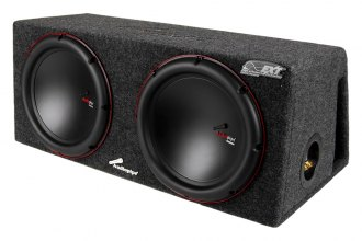 "Audiopipe® - 12"" APVB Series 1500W Ported Dual Subwoofer Enclosure"