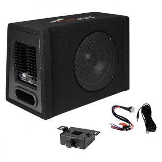 "Audiopipe® - 10"" AP-XB Series Ported Powered 600W Subwoofer Enclosure"