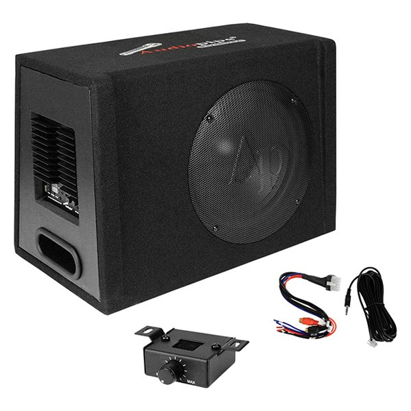 "Audiopipe® - 12"" AP-XB Series Ported Powered 800W Subwoofer Enclosure"
