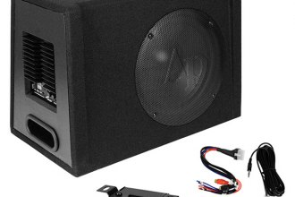 "Audiopipe® APXB12A - 12"" AP-XB Series Ported Powered 800W Subwoofer Enclosure"