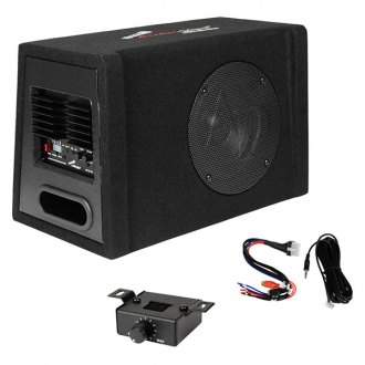"Audiopipe® - 8"" AP-XB Series Ported Powered 400W Subwoofer Enclosure"