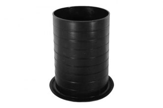 "Audiopipe® - 3-3/4"" x 4-1/2"" Nippon™ Black Plastic Port Tube"