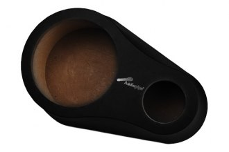 "Audiopipe® - 8"" Wood with Vinyl Rear Deck Speaker Pod with Tweeter Opening"