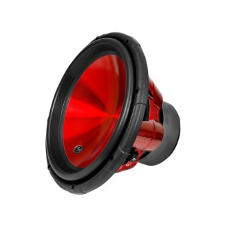 "Audiopipe® - 15"" TXX-APA Series Red Cone 2000W 4 Ohm DVC Subwoofer"