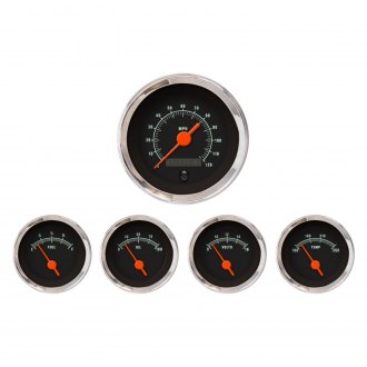 Aurora Instruments® - Muscle Black Gauges