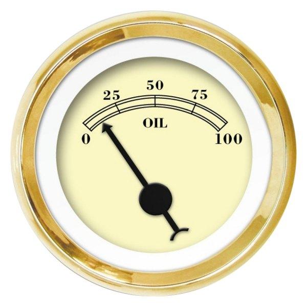Aurora Instruments GAR177ZEXJABCC American Classic Gold III Oil Pressure Gauge