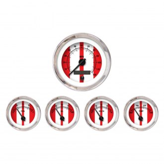Aurora Instruments® - Cobra Red Gauges