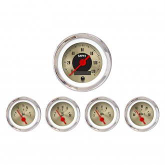 Aurora Instruments® - American Classic Gold IV Gauges