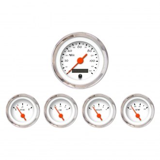 Aurora Instruments® - DECO XT White Gauges