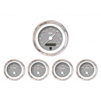 Aurora Instruments® - Modern Rodder Gray Gauges