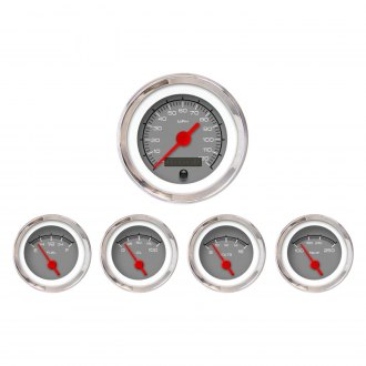 Aurora Instruments® - Competition Gray Gauges
