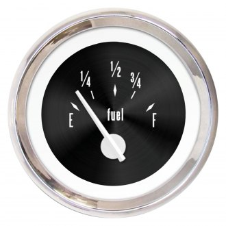 Aurora Instruments® - American Classic Black II Fuel Level Gauge