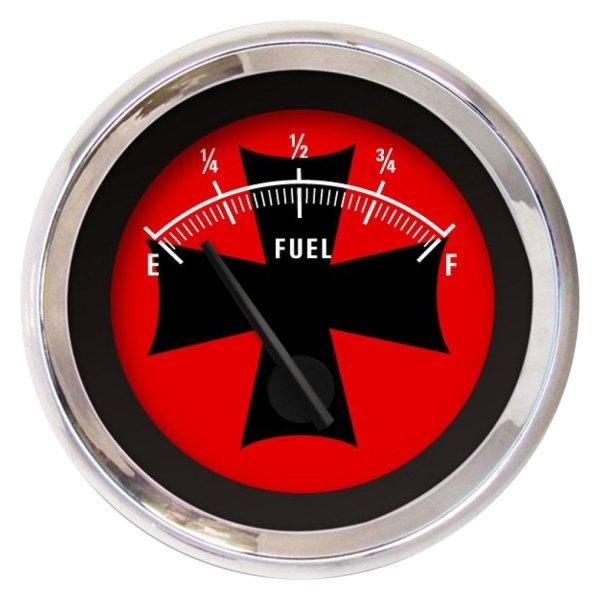 Aurora Instruments GAR181ZMXKABCC Iron Cross White//Red Fuel Level Gauge