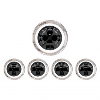 Aurora Instruments® - Iron Cross Ash and Black Gauges