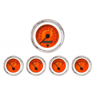 Aurora Instruments® - Ghost Flame Red Gauges