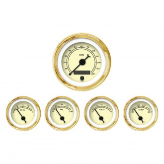 Aurora Instruments® - American Classic Tan Gauges