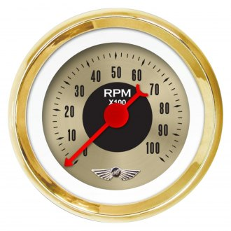 Aurora Instruments® - American Classic Gold V Tachometer Gauges