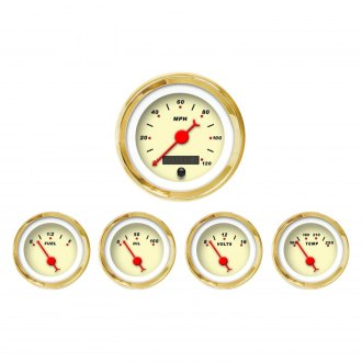 Aurora Instruments® - Modern Rodder Tan Gauges