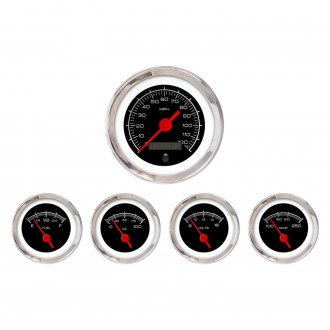 Aurora Instruments® - Competition Black Gauges